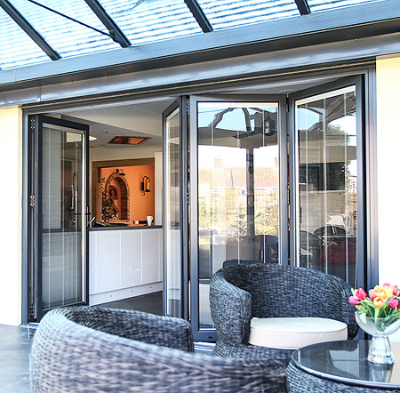 Choices Aluminium Multi-Folding Doors