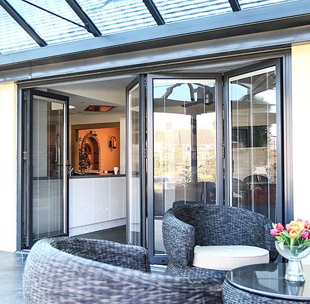 Choices Aluminium Multi-Folding Doors