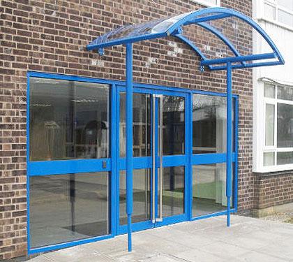 Commercial Entrances in Aluminium