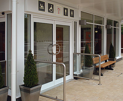 Commercial Entrances for Hospitals