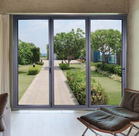 Lumina F82 Bi-Folding Doors from Choices