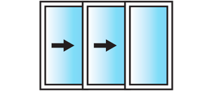 In-line 3 Pane Configuration